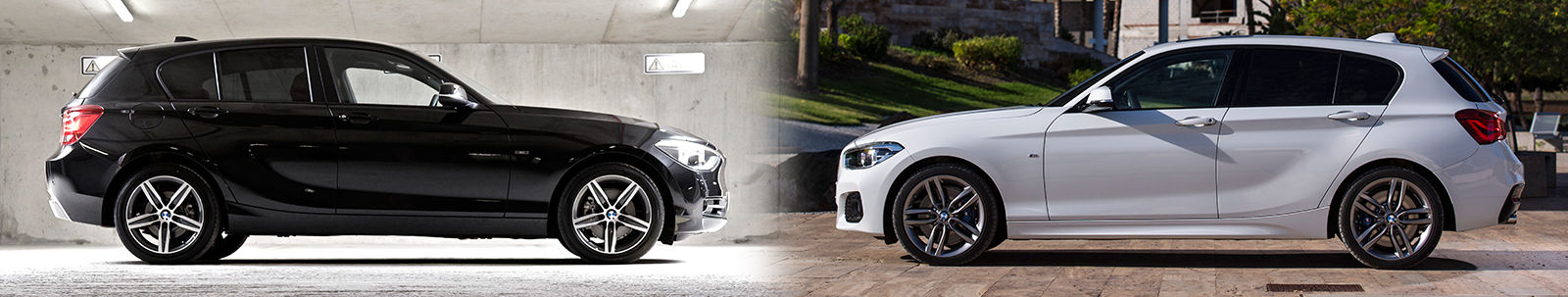 2015 bmw 1 series facelift old vs new compared carwow