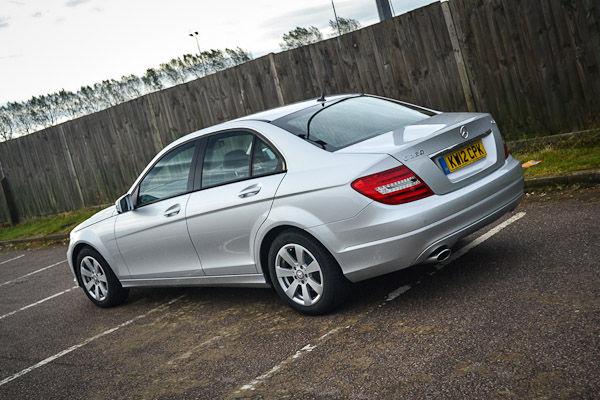 Mercedes C220 CDI Rear