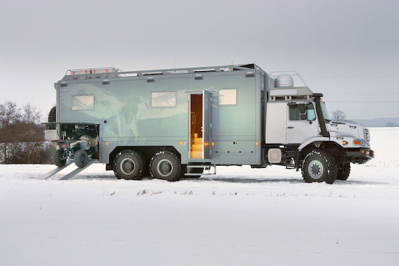 Zetros survival truck