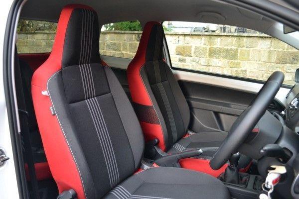 Skoda Citigo Sport seats