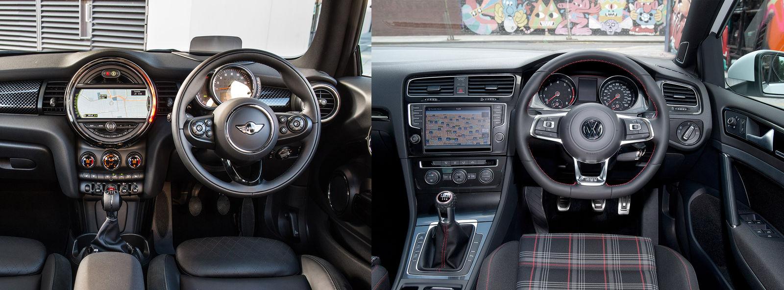Volkswagen Golf GTI vs MINI Cooper S – hot-hatch legends compared ...