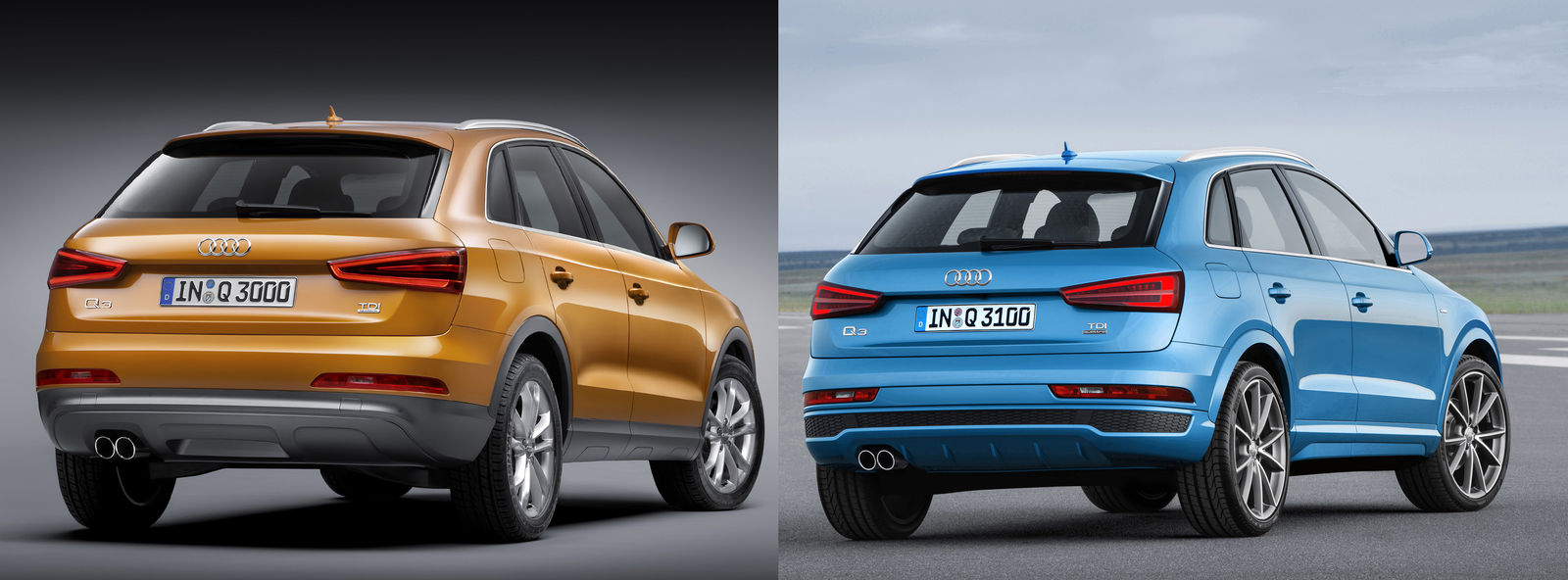 Audi Q3 2015 Facelift Vs Pre Facelift Spot The