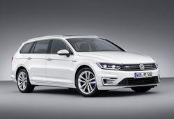 Volkswagen's next-feneration Passat GTE plug-in hybrid revealed
