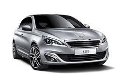 Peugeot 308 2014 grey front 2