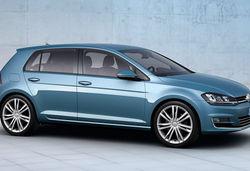 Volkswagen golf mk7 blue main image