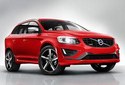 Volvo xc60 red front 2