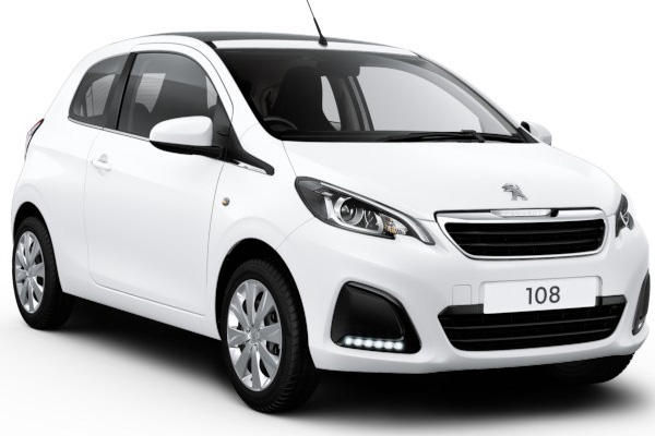 peugeot 108 diamond white