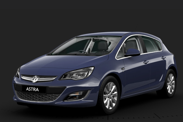 Vauxhall Astra Royal Blue