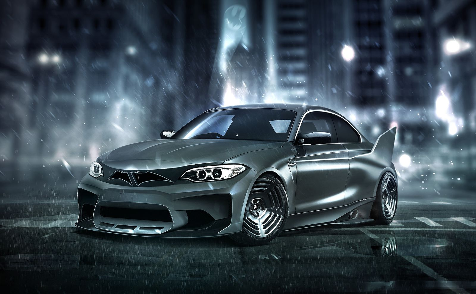 Batman's BMW M2 - carwow