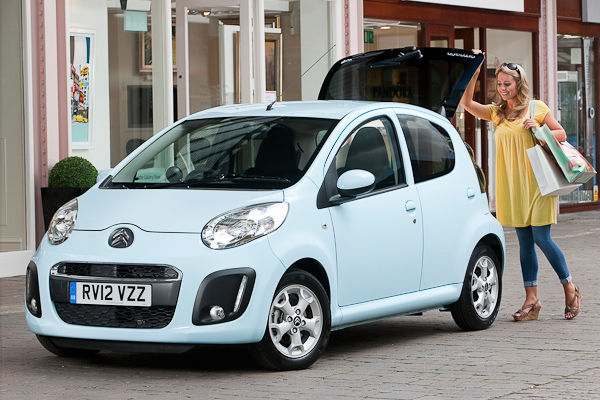 Citroen C1 light blue