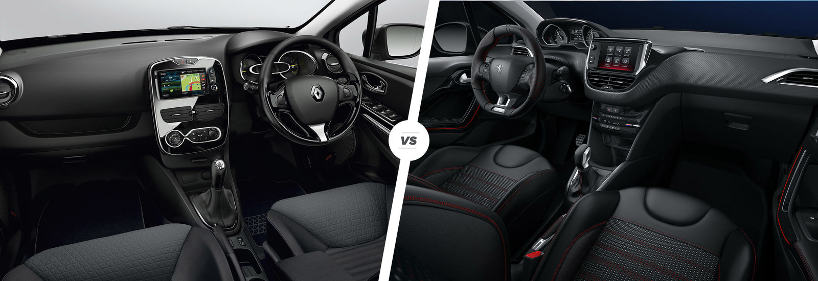renault clio vs peugeot 208 french face off carwow. Black Bedroom Furniture Sets. Home Design Ideas