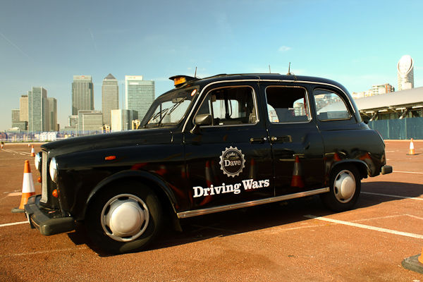 Driving Wars Taxi