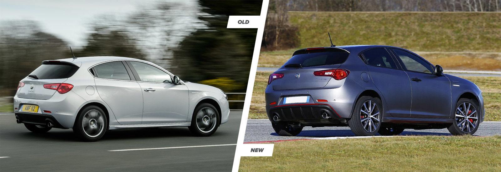 Alfa romeo giulietta old vs new prices