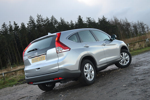 Honda CR-V Silver Rear
