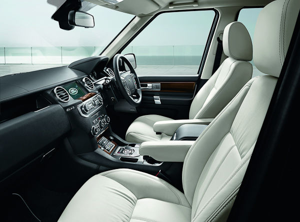 Discovery Luxury Edition interior