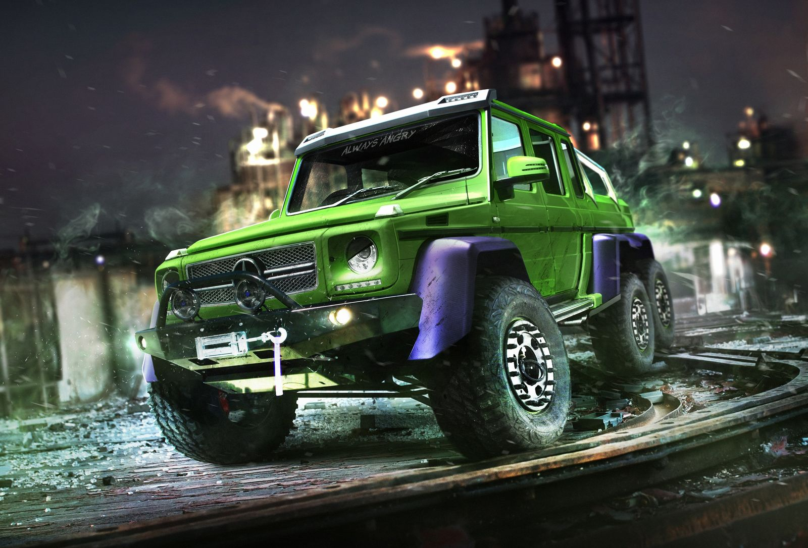 The Hulk's Mercedes G63 AMG 6x6 - carwow