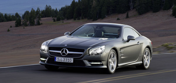 2012 Mercedes SL Gray