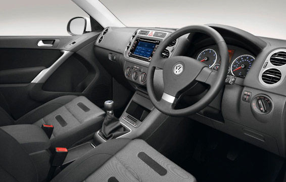 Old Tiguan interior