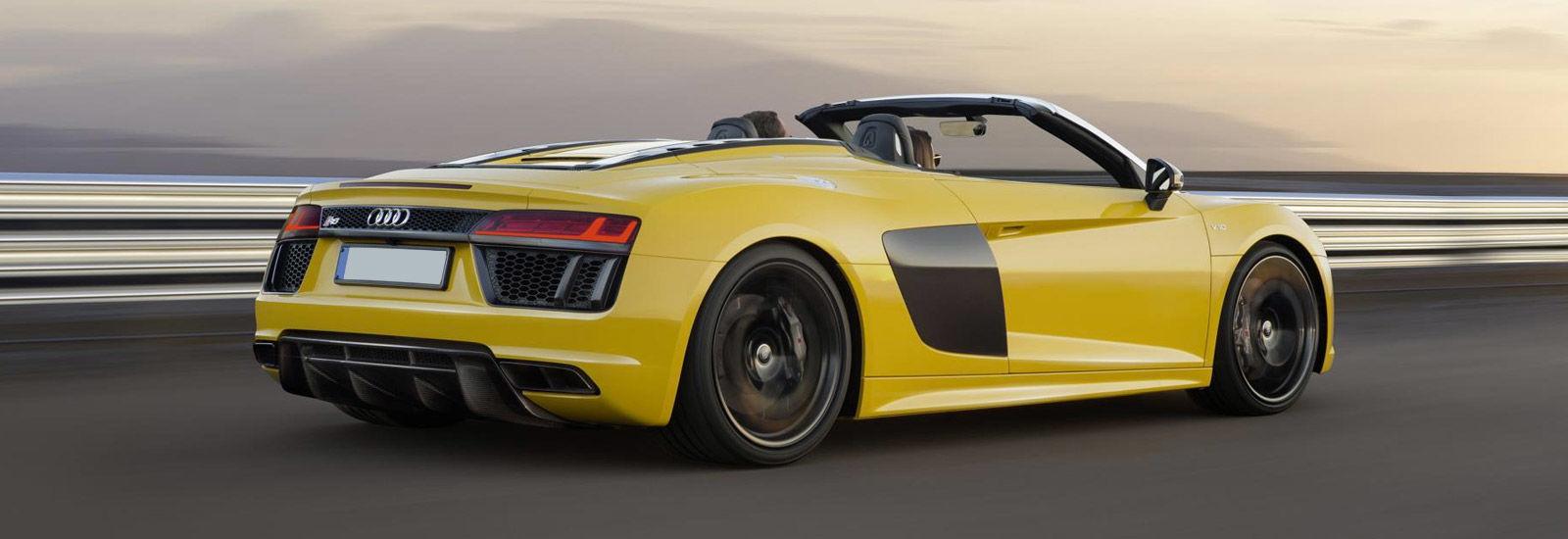 Audi audi r8 spyder v10 : Audi R8 V10 Spyder price, specs and release date | carwow