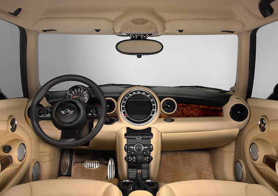 MINI Rolls-Royce interior