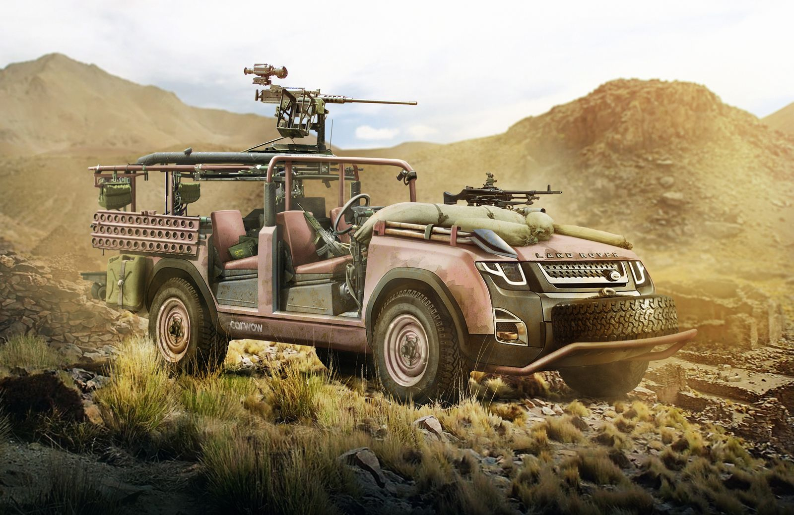 Could The New Land Rover Defender Look Like This Carwow