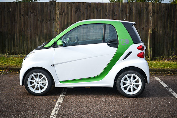 Smart Fortwo Electric Drive Side