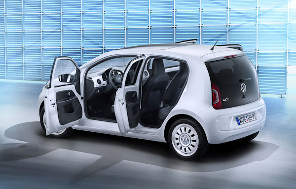 VW Up 5-Door Interior