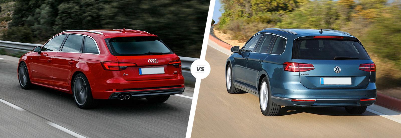 Audi A4 Avant Vs Vw Passat Estate Comparison Carwow