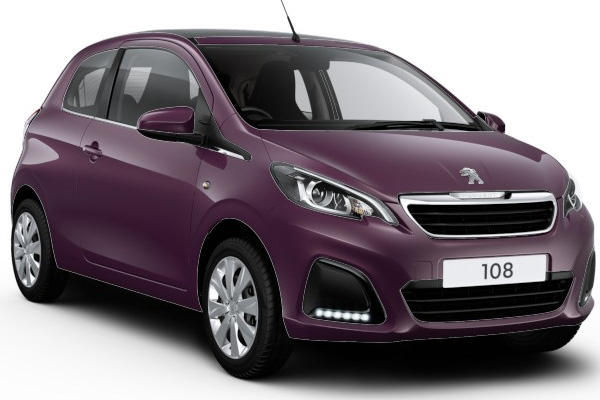 peugeot 108 purple berry