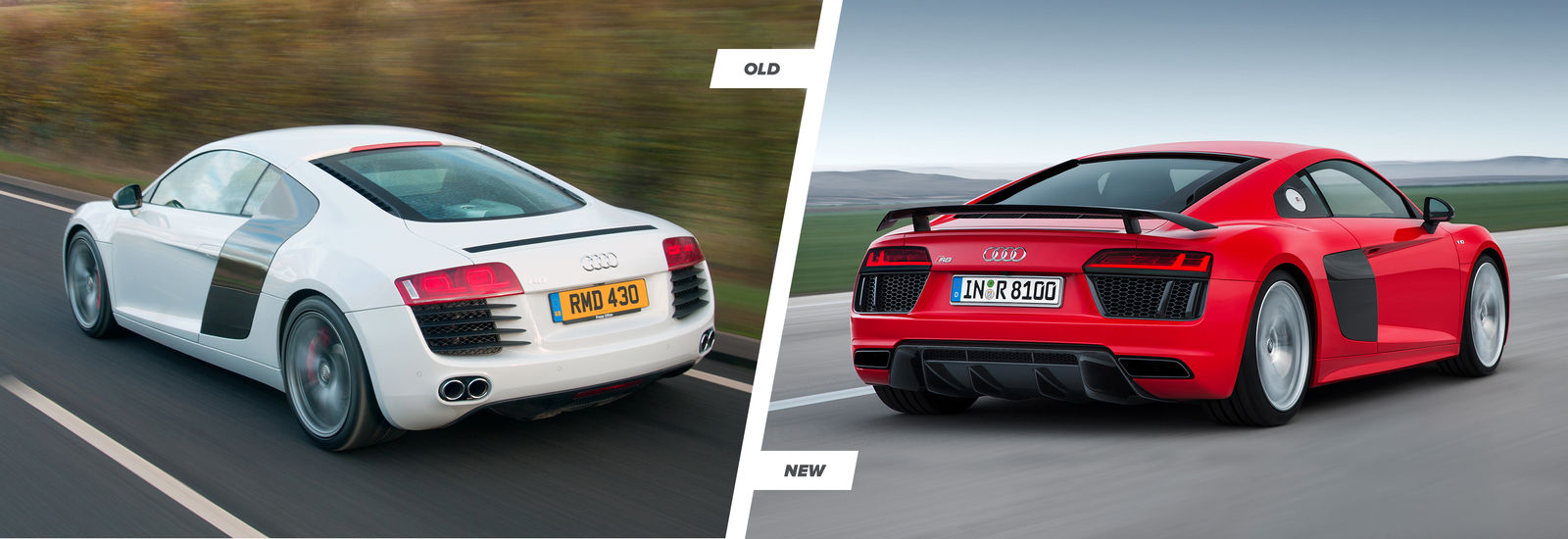 2015 Audi R8: TT and old R8 comparison | carwow