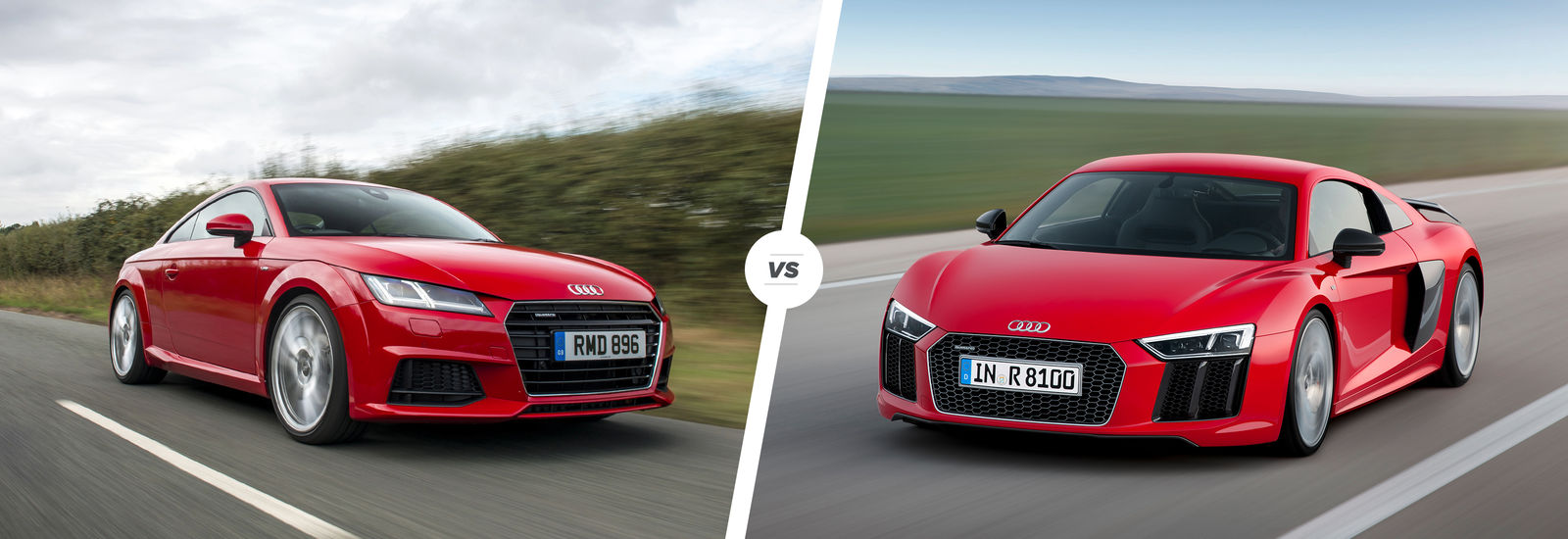 2015 audi r8 tt and old r8 comparison carwow. Black Bedroom Furniture Sets. Home Design Ideas