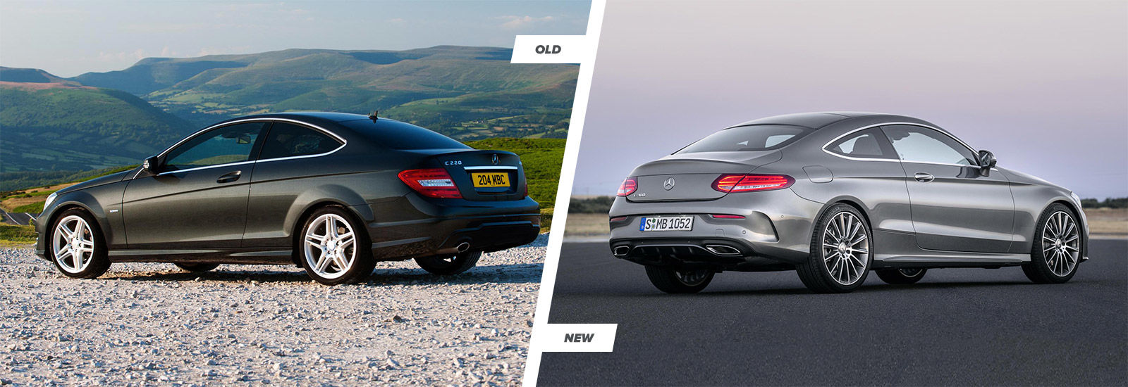 New Mercedes C Class Coupe Old Vs New Compared Carwow