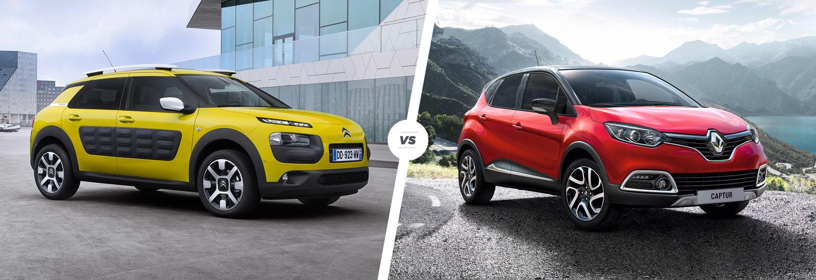 Citroen Cactus vs Renault Captur: crossover clash | carwow