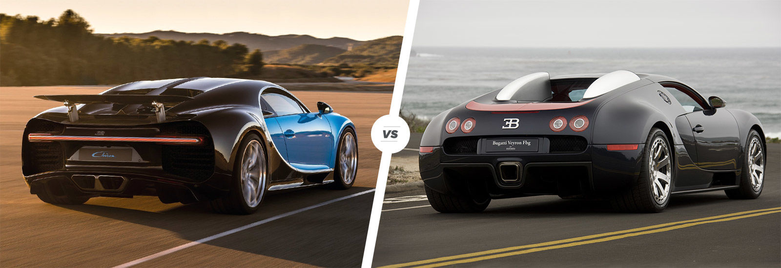 bugatti chiron vs veyron speed/stats comparison | carwow