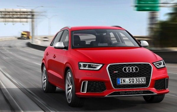 Audi RS Q3 front angle