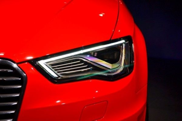 Audi A3 e-tron headlight
