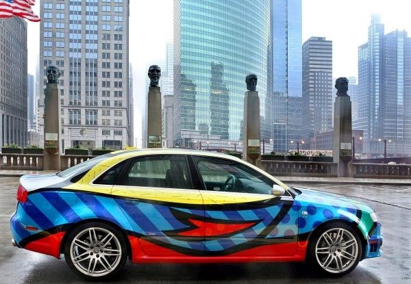 Audi RS4 art car