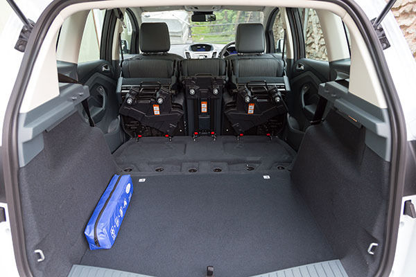 Ford C-Max Boot Flat