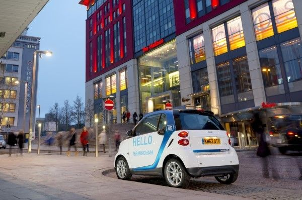 car2go Smart rear
