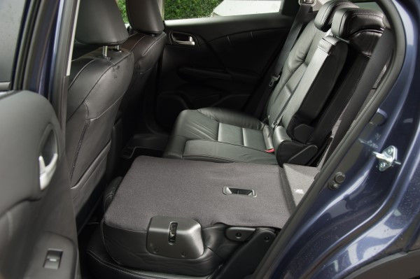 Honda Civic Tourer rear seats