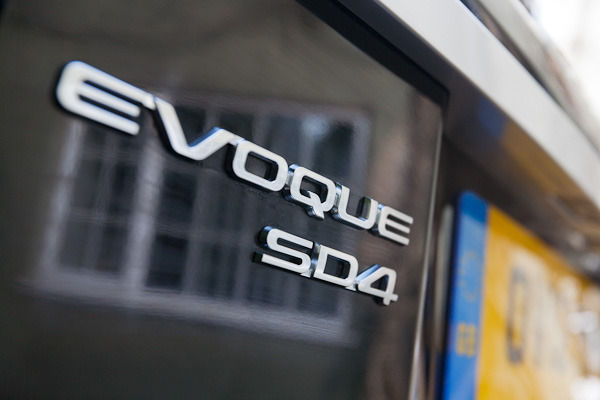 Evoque badge