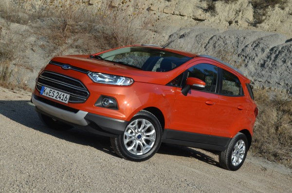 Ford Ecosport front 2