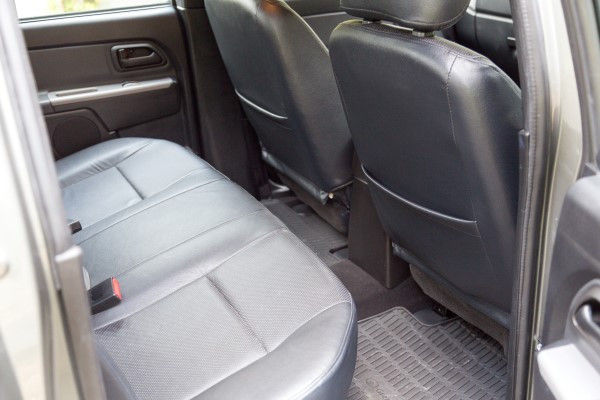 Great Wall Steed rear seats