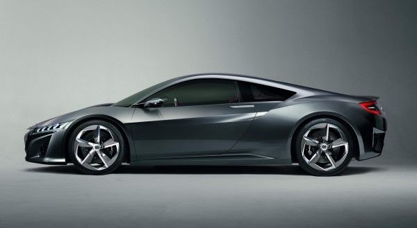 Honda NSX side