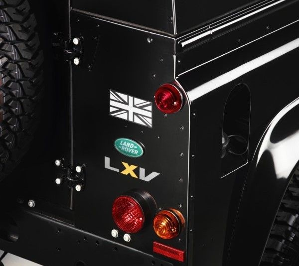 Land Rover Defender LXV badging