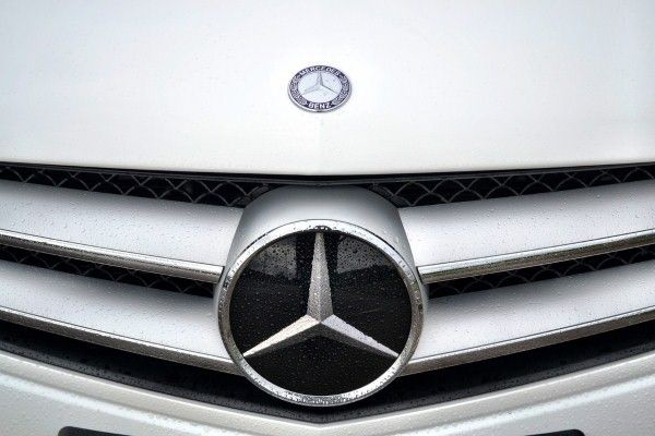 Mercedes-Benz C220 Coupe grille