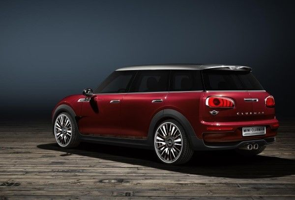 MINI Clubman Concept rear