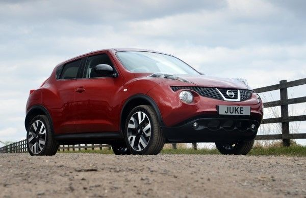 Nissan Juke front static
