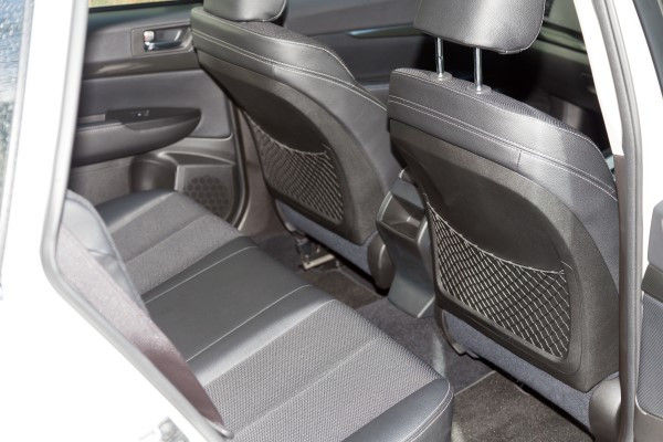 Subaru Outback rear seats
