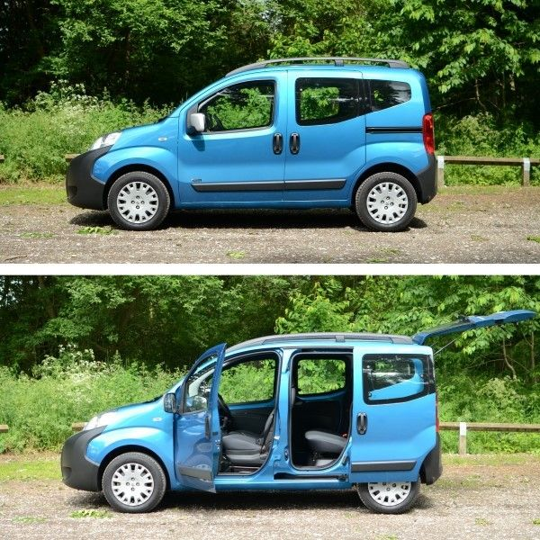 Peugeot Bipper side doors